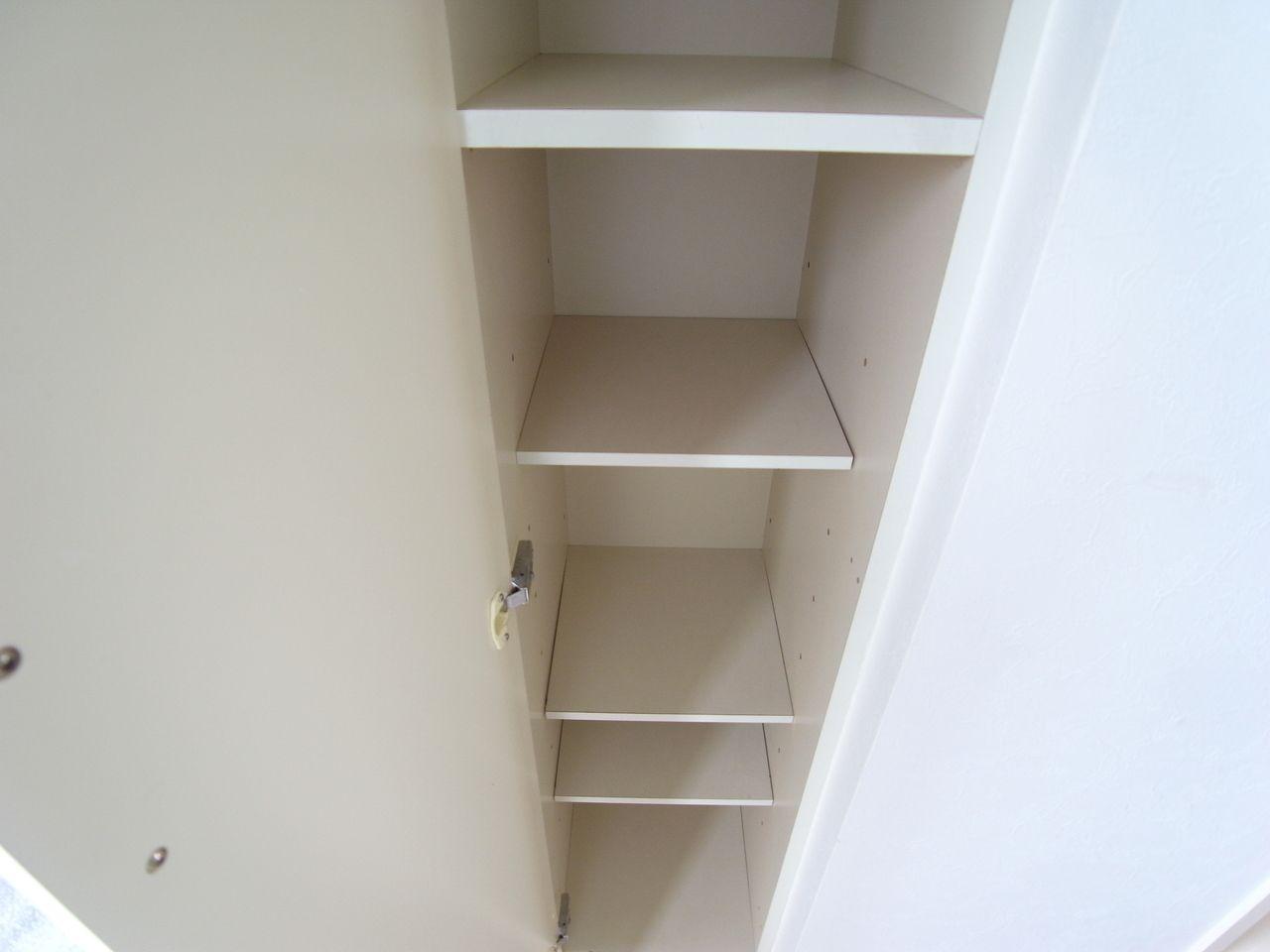 棚の高さも変更可能