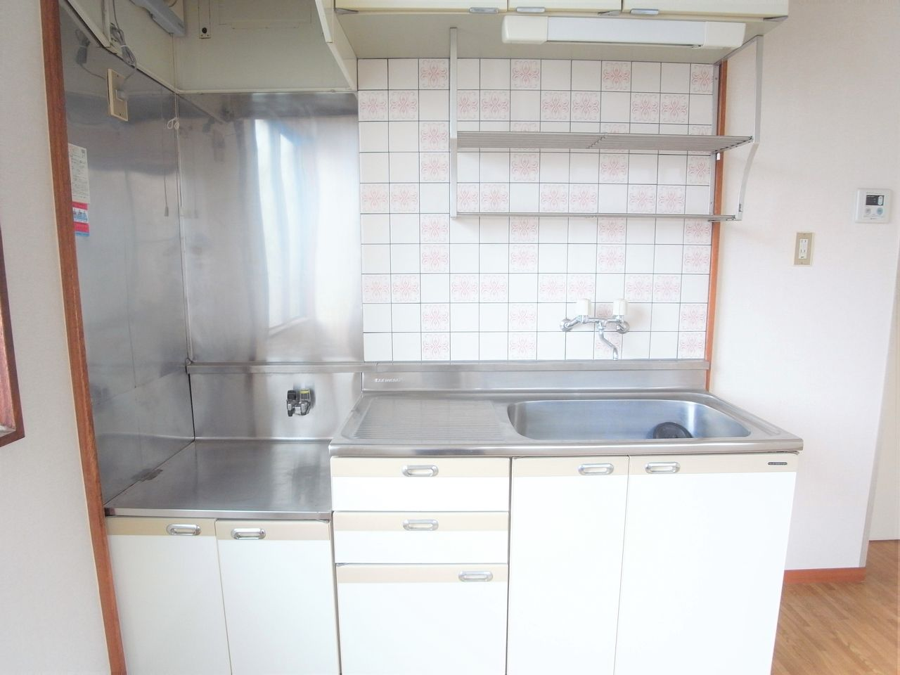 収納力あるキッチン