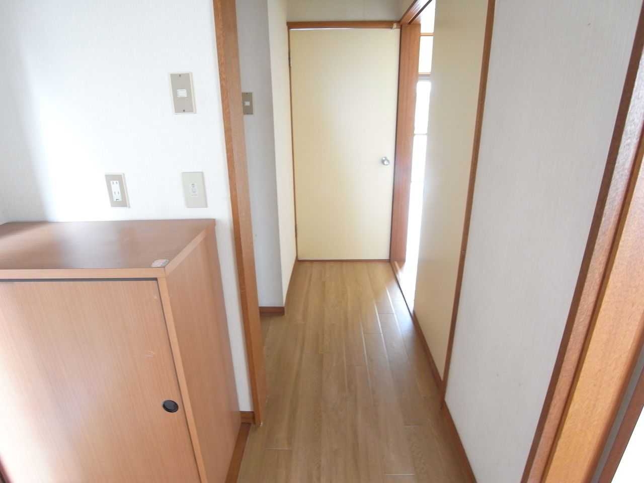 廊下の床もリフォーム!
