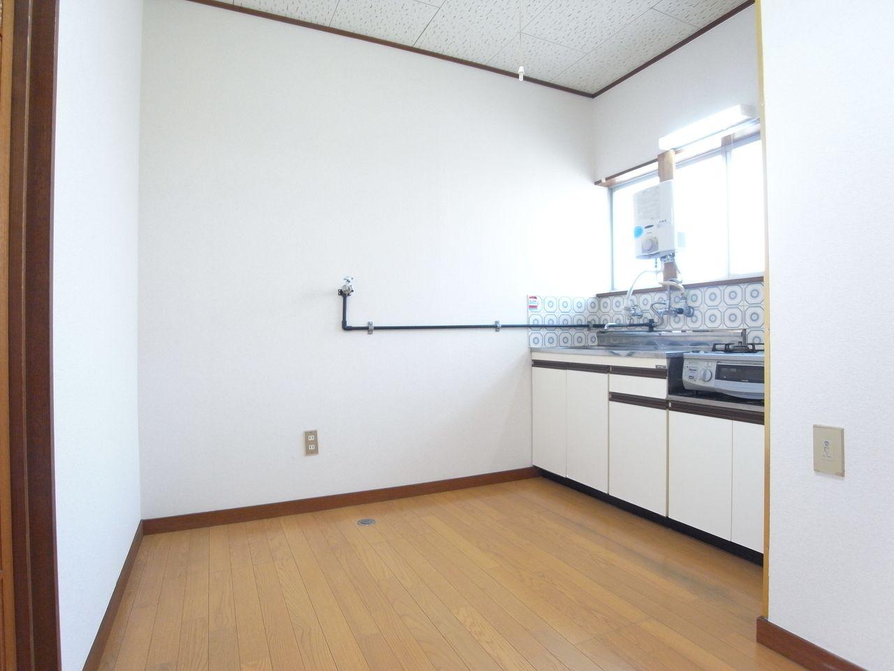 室内洗濯機置場のスペースあり