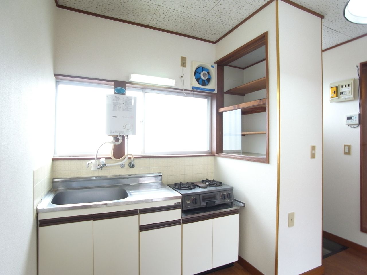 適度な広さの使いやすいキッチン