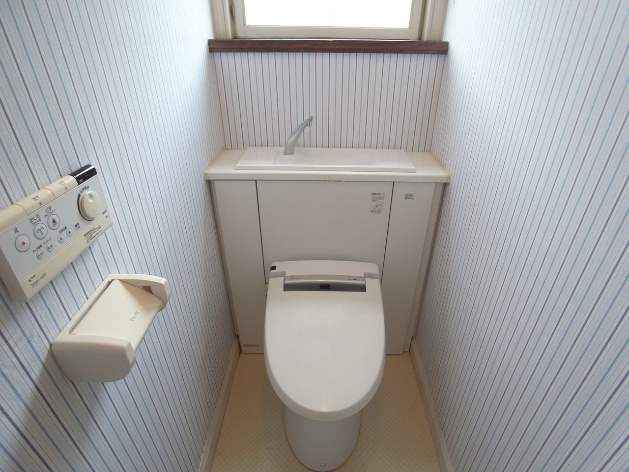 タンクが目立たないシャワートイレ