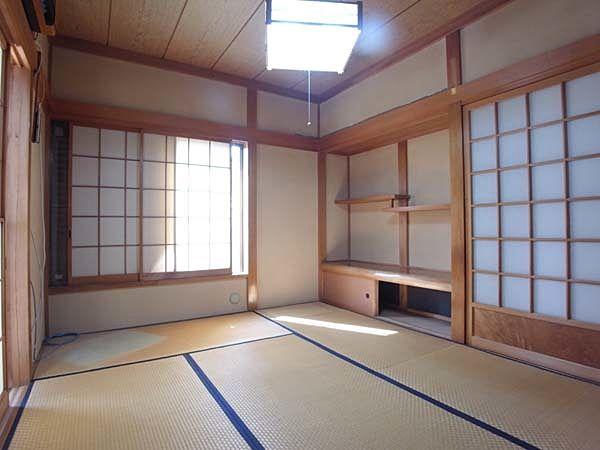 2面採光で和む和室です