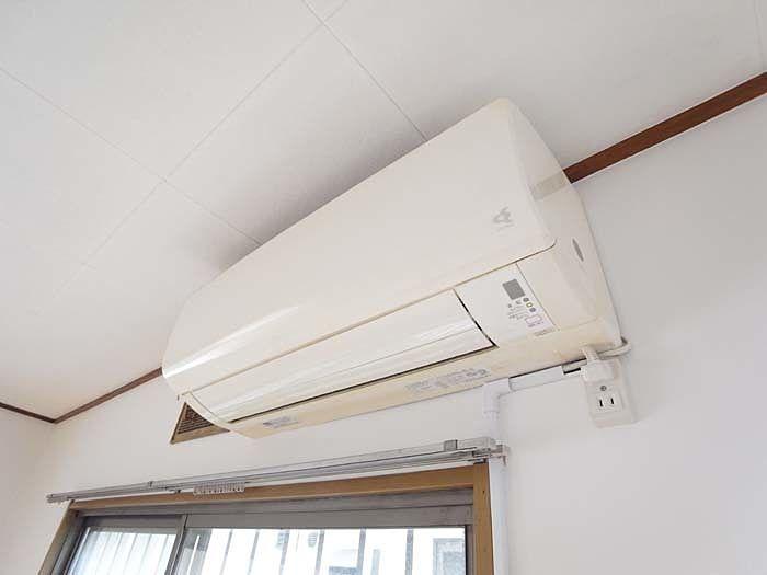LDKで使用のエアコン、快適に過ごせます