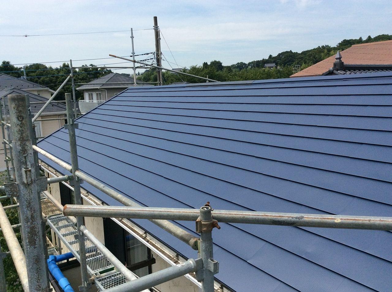 屋根の軽量化と耐震対策