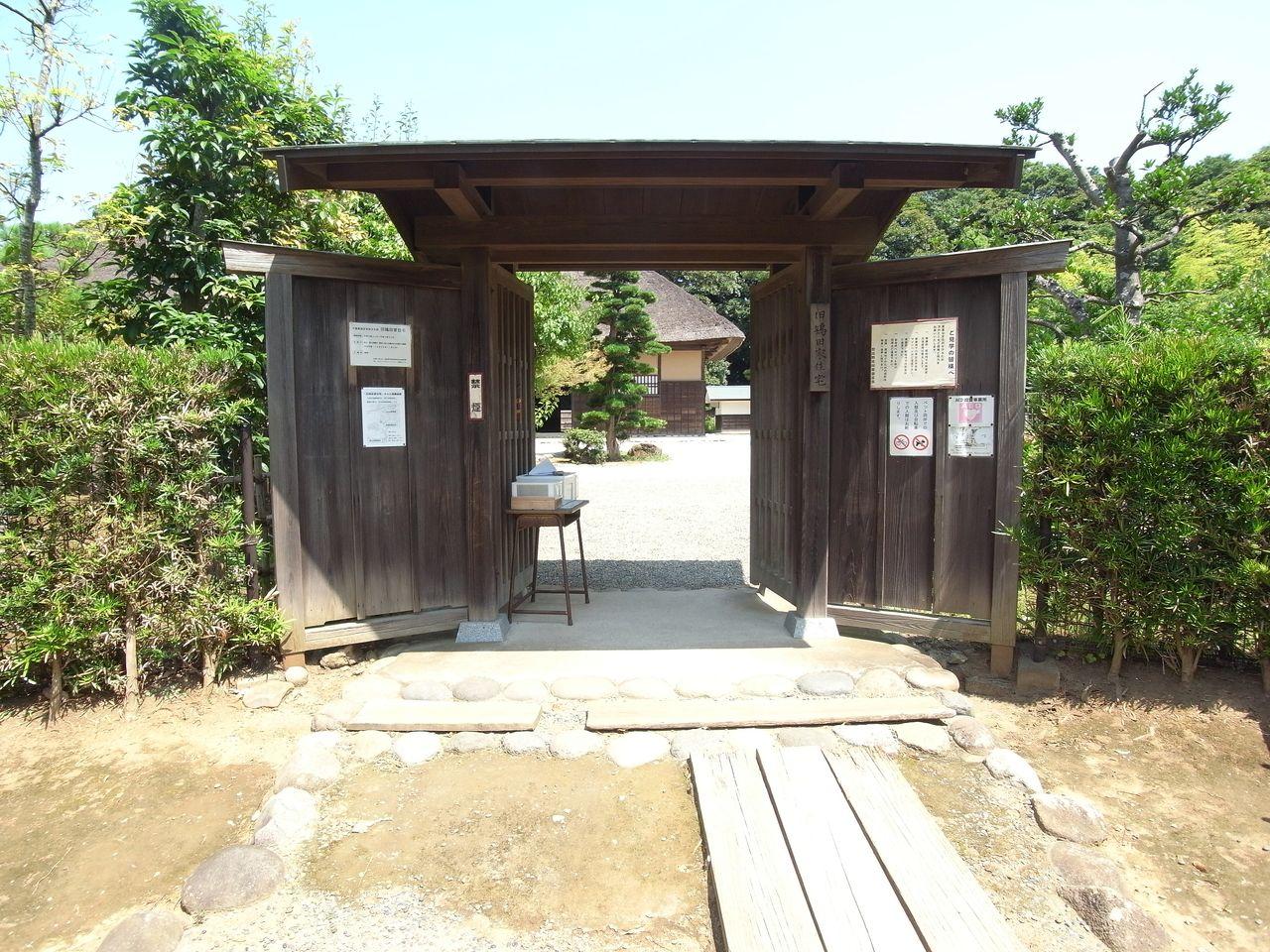 千葉県指定有形文化財の「旧鴇田家住宅」