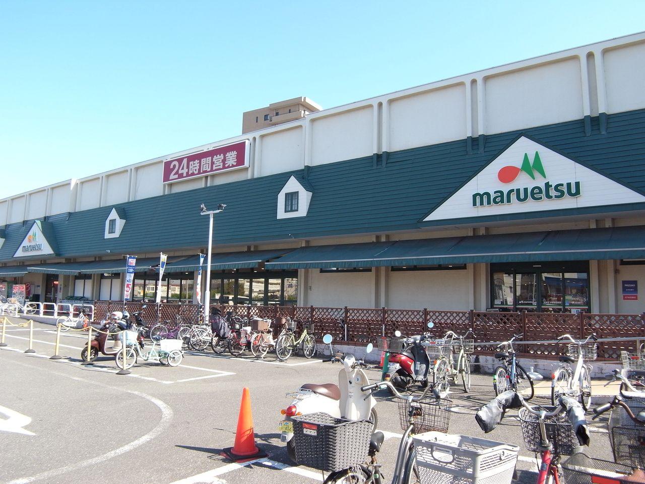 スーパーマルエツ以外にドラッグストア・本屋・ヤマダ電機なども併設されています。